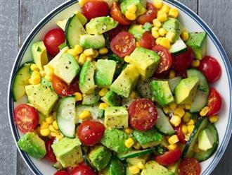 Cách làm salad bơ thanh mát, giải nhiệt mùa hè