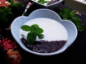 Tôi học được từ chị dâu cách làm sữa chua nếp cẩm ngon chưa từng thấy, ai ăn cũng khen!