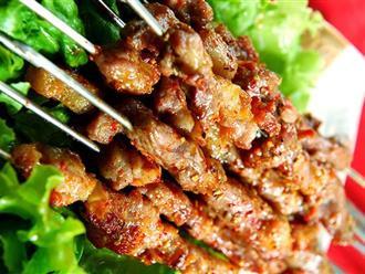 Hướng dẫn cách làm thịt xiên nướng tại nhà bằng lò nướng