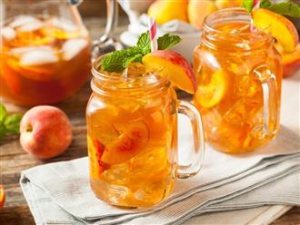 Cách làm trà đào cam sả giải nhiệt ngày nắng