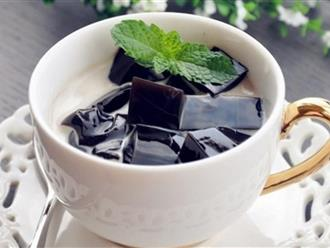 Nắng nóng oi bức, học ngay cách làm trà sữa sương sáo giải nhiệt cực đã