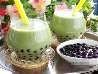 Mẹ ra tay mách ngay cách làm trà sữa thái xanh mát lạnh đập tan cái nóng mùa hè