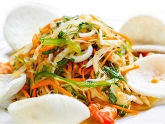 Cách muối dưa bắp cải rau cần ngon, giòn không cần dấm