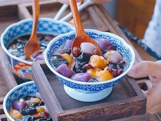 """Tôi học được cách nấu chè khoai dẻo cực chuẩn của bạn thân người Đài Loan, ngon """"không trượt phát nào""""!"""