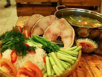 Cách nấu lẩu cá bớp măng chua ngon chuẩn vị nhà hàng