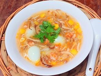Cách nấu súp hải sản chinh phục mẹ chồng khó tính