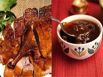 Cách pha nước chấm vịt luộc, vịt quay, vịt nướng thơm ngon chuẩn vị, đậm đà khó cưỡng