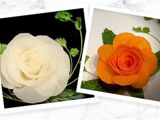 """Cách tạo hình hoa hồng đẹp lung linh """"không thể thất bại"""" dù bạn vụng cỡ nào!"""