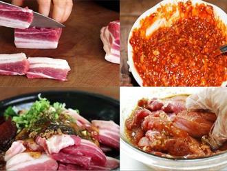 Cách ướp thịt nướng ngon nhất đơn giản tại nhà