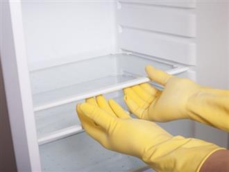 Cách vệ sinh tủ lạnh chỉ 5 phút đã sạch bong, sáng bóng
