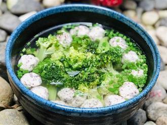 """Mỗi lần muốn """"dụ"""" con ăn rau nhiều hơn, tôi đều phải nấu món canh này"""