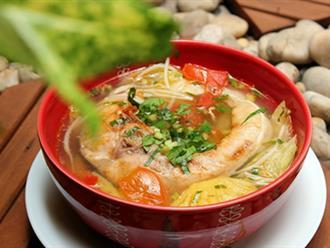 Đổi vị với món canh cá nục thơm nức cho bữa cơm cuối tuần