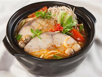 Canh chua cá bớp thơm ngon, hấp dẫn cho bữa cơm ngày hè