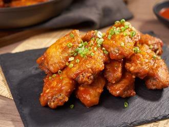 Đổi vị món cánh gà chiên quen thuộc với nước xốt kiểu Thái cực lạ miệng