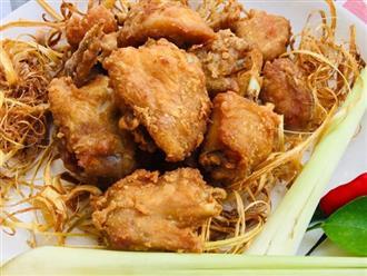 """Cuối tuần đổi vị cho cả nhà với món cánh gà ủ """"rơm"""" thơm ngon xuất sắc"""