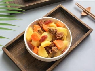 Thử thay thế nguyên liệu này trong món canh khoai tây đi, người Tàu họ nấu thế và được khen rất nhiều