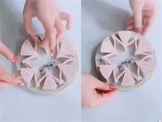 Clip cách cắt giò hình hoa có gì mà gây bão TikTok, hút tận 16 triệu views?