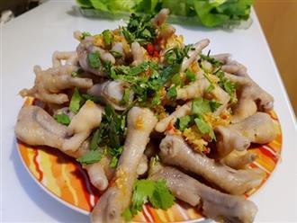 Nếu chán chân gà sả ớt, sao không thử ngay chân gà chua ngọt kiểu Thái này