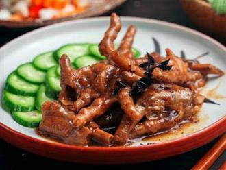 Tự làm chân gà tàu xì ngon không kém nhà hàng Trung Hoa