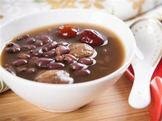Không thể bỏ lỡ công thức món chè đậu đỏ đảm bảo 3 tiêu chí ngon – bổ - mát