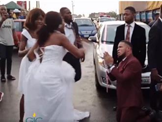 Phát hiện hành vi đồi bại của chú rể và bạn thân khi trên đường tới nơi tổ chức hôn lễ, cô dâu lập tức hủy hôn và cái kết bất ngờ