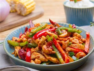 Có món xào ăn với cơm cũng ngon mà ăn giảm cân cũng ngon miệng đủ chất