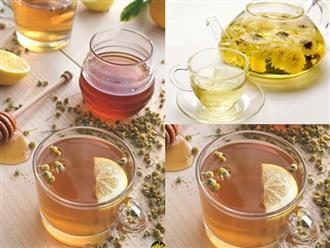 Thưởng thức cocktail hoa cúc mật ong an nhiên đầu năm mới