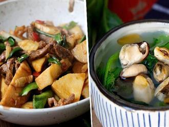 Cơm tối có 2 món nhưng cả nhà vẫn đề nghị lần sau chỉ cần nấu thế!