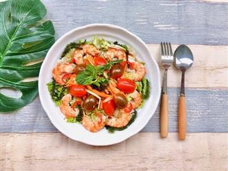 Công thức làm salad rong nho sốt chua ngọt giúp đẹp da, giữ dáng