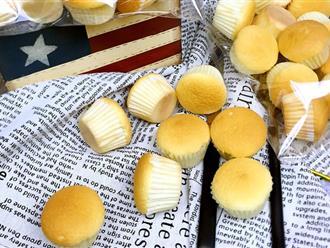Cupcake mini mềm mượt như mây làm không hề khó mà ai ăn cũng khen nức nở