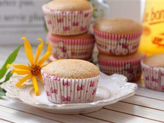 Bất cứ ai thích uống trà sữa hẳn sẽ mê mẩn ngay với món cupcake trà sữa mềm ngon thơm phức này