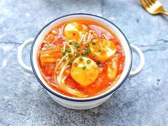 Nâng tầm cho món đậu hũ xốt cà chua chỉ với 1 nguyên liệu chợ nào cũng có