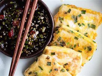Thổi bay nồi cơm với món đậu phụ chiên trứng vừa giòn vừa mềm mịn
