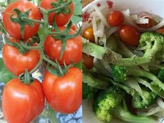 Đem cà chua nấu với 2 thứ, vừa ngon lại bổ hơn nhân sâm, nhiều người bỏ phí mà không biết