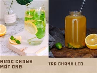 2 món đồ uống làm siêu nhanh, nguyên liệu chợ nào cũng có giúp thải độc cơ thể cực kỳ hiệu quả