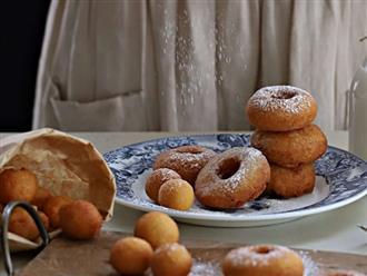 Dùng đậu hũ làm bánh donut: Tưởng không ngon mà ngon không tưởng, già trẻ lớn bé ai cũng mê!