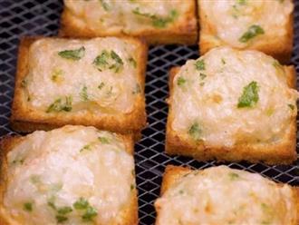 Dùng nồi chiên không dầu làm món bánh mì mới toanh, ngon không tưởng!