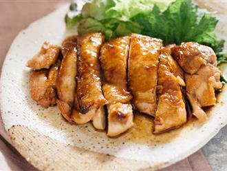 Học người Nhật làm món gà áp chảo tuyệt ngon