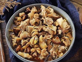 3 bước siêu đơn giản cho món gà hấp nấm thơm lừng ngon miệng