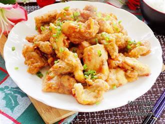 Chế biến thịt gà kiểu này khiến cả nhà ai cũng xin thêm cơm liên tục