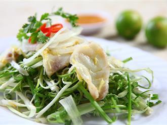 Quán gỏi cá gia truyền 3 đời, chỉ bán 40 đĩa mỗi ngày ở Sài Gòn