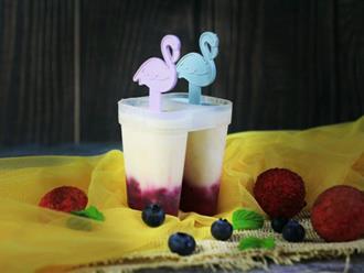 Không cần máy vẫn làm được kem 2 màu vừa ngon vừa đẹp