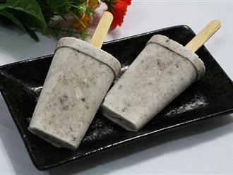 Oreo không chỉ là bánh quy, dùng làm kem cũng ngon vô cùng với công thức cực đơn giản này