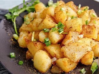 Đừng làm khoai tây chiên kiểu cũ nữa làm thế này mới ngon