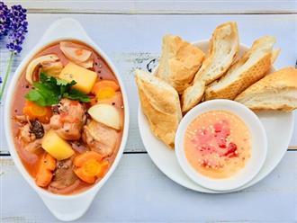 Đổi món cho cả nhà với Lagu gà mềm thơm, ăn cơm cũng ngon mà ăn bánh mì cũng tuyệt!