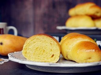 Thử ngay công thức làm bánh mì xoài mềm ngọt thơm lừng