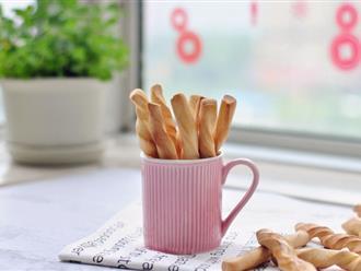 Trời lạnh ở nhà làm bánh quẩy nóng hổi thơm phức ăn thì còn gì bằng!