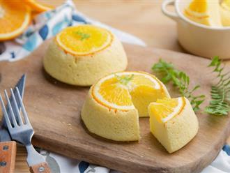 Chẳng cần lò nướng tôi cũng làm được bánh bông lan cam ngon đẹp nhức nhối