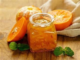 Mẹo làm mứt cam ăn với bánh mì ngọt ngào, hấp dẫn ngày Đông