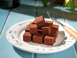 Từ khi biết cách này để làm nama chocolate, tôi đỡ tốn biết bao nhiêu tiền!